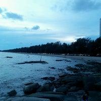 Photo taken at Mae Rumphueng Beach by Verylucky S. on 4/16/2012
