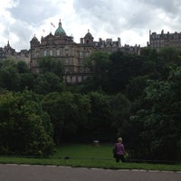 Photo taken at West Princes Street Gardens by Stephanie T. on 7/4/2012