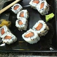 Photo taken at Manga Sushi by Jandira S. on 6/18/2012