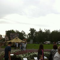 "Photo taken at Площадь перед ЛДС ""Кристалл"" by Тимофей П. on 5/9/2012"