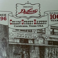 Photo taken at Collin Street Bakery by Lisa E. on 9/4/2012