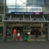 Photo taken at Nantes Railway Station by Caro on 8/15/2012
