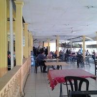 Photo taken at Restoran Nelayan Terapung Ujung Batu by FC L. on 7/19/2012