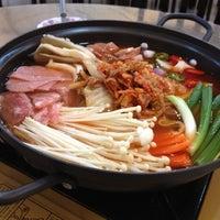Photo taken at 大长今 Onix Jun Restaurant by Cherry C. on 3/8/2012