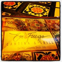Photo taken at En Fuego Cantina & Grill by Toktam T. on 5/27/2012