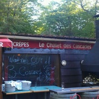Photo taken at Le Chalet des Cascades by Jean-Baptiste S. on 5/12/2012