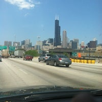 Photo taken at Dan Ryan Expressway by bartend4fun on 7/9/2012