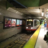 Photo taken at Van Ness MUNI Metro Station by Mark A. on 5/19/2012