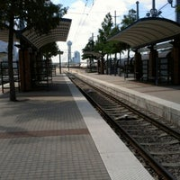 Photo taken at Victory Station (DART Rail / TRE) by Jerimy G. on 8/24/2012