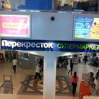 Снимок сделан в Перекрёсток пользователем Alexey M. 8/28/2012