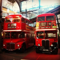 Photo taken at London Transport Museum by Nikolay L. on 8/22/2012