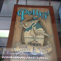 Photo taken at Pelly's Cafe & Fish Market by Blake E. on 7/10/2012