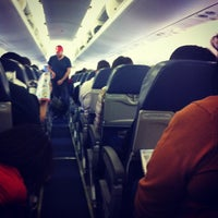 Photo taken at Gate A25 by Danny N. on 3/8/2012