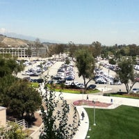 Photo taken at University Library - Cal Poly Pomona by Catherine Y. on 4/17/2012