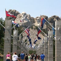 Photo taken at Mount Rushmore National Memorial by Patricia L. on 7/3/2012