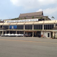 Photo taken at Husein Sastranegara International Airport (BDO) by GAZZA A. on 3/29/2012