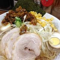 Photo taken at 三水ラーメン つくば店 by ♪ HIRO ♪ on 7/19/2012