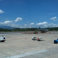 Photo taken at Aeropuerto Internacional Palonegro (BGA) by jose luis m. on 7/25/2012