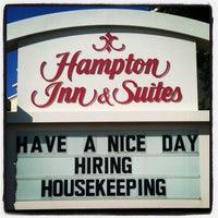 Photo taken at Hampton Inn & Suites Dfw West by Tui S. on 5/20/2012