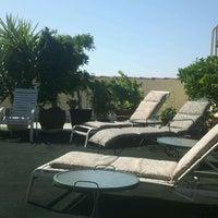 Photo taken at President Hotel, Rooftop Garden by Maja J. on 7/24/2012