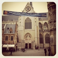 Photo taken at Sint-Pieterskerk by Cliff P. on 3/6/2012