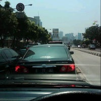Photo taken at Jalan Mampang Prapatan Raya by Ari W. on 8/19/2012