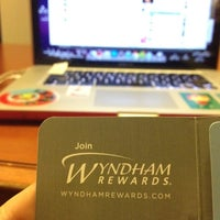 Photo taken at Wyndham Hotel by Jeanine on 7/20/2012