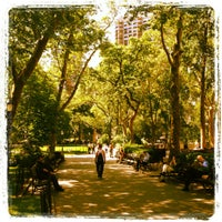 Photo taken at Madison Square Park by Sarah D. on 5/31/2012