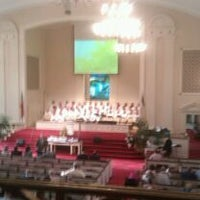Photo taken at Summerville Baptist Church by Barbie T. on 4/8/2012