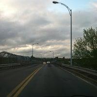 Photo taken at Rourke Bridge by Justin W. on 4/23/2012