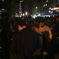 Photo taken at #OCCUPYWALLSTREET by justinstoned on 3/18/2012