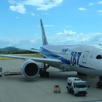 Photo taken at Hiroshima Airport (HIJ) by ま で. on 8/2/2012