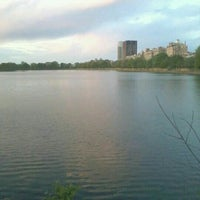 Photo taken at Central Park - East Drive by Erica K. on 4/25/2012