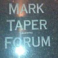 Photo taken at Mark Taper Forum by Todd B. on 3/16/2012
