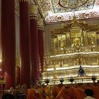 Photo taken at Wat Debsirin by Michelle C. on 8/2/2012