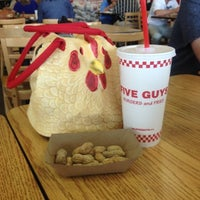 Photo taken at Five Guys by Susan C. on 8/17/2012