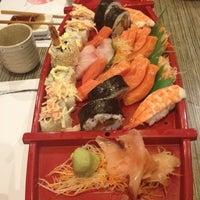 Photo taken at Oishi Sushi Jap Resto by Eddie on 8/18/2012