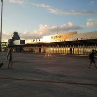 Photo taken at Aeropuerto de Santander - Seve Ballesteros by Iván G. on 8/26/2012