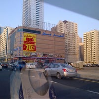 Photo taken at Ansar Mall by Lily F. on 6/28/2012
