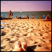 Photo taken at Plage du Racou by Gianna P. on 8/3/2012