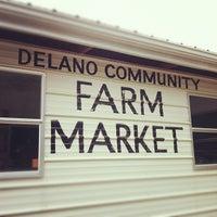 Photo taken at Delano Community Farm Market by Ayaka I. on 5/22/2012