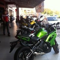 Photo taken at Cycle Point Motosport Sdn Bhd Nilai by Azwin A. on 6/13/2012