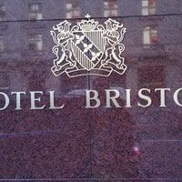 Photo taken at Hotel Bristol Geneva by DonJ on 6/26/2012