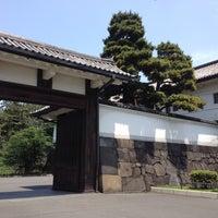Photo taken at Sakuradamon Gate by Masashi S. on 5/28/2012