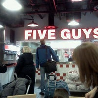 Photo taken at Five Guys by Joey L. on 2/24/2012