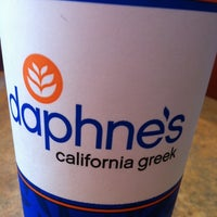 Photo taken at Daphne's California Greek by Nancy C. on 5/19/2012