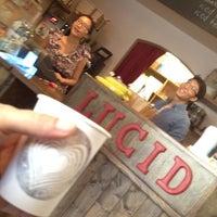 Снимок сделан в Lucid Cafe пользователем Oblio N. 9/12/2012