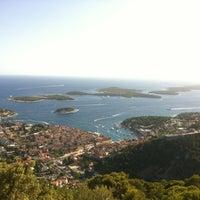 Photo taken at Otok Hvar by Janaina C. on 7/18/2012