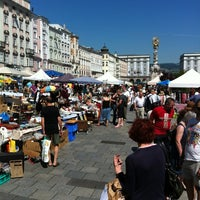 Photo taken at Flohmarkt by Sandra W. on 6/16/2012