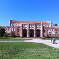 Photo taken at UCLA Wilson Plaza by Javier G. on 8/18/2012